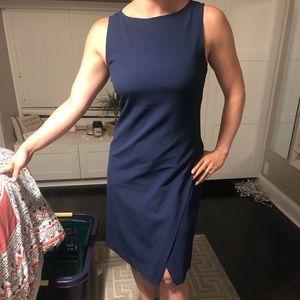 Navy blue theory dress
